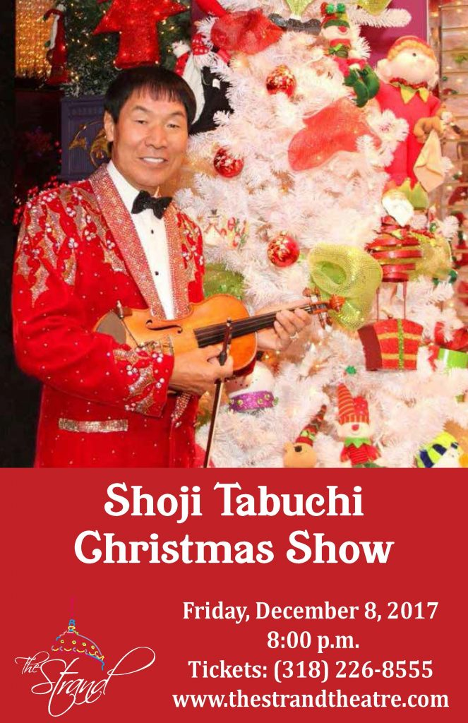Shoji Tabuchi Christmas Show @ The Strand Theatre